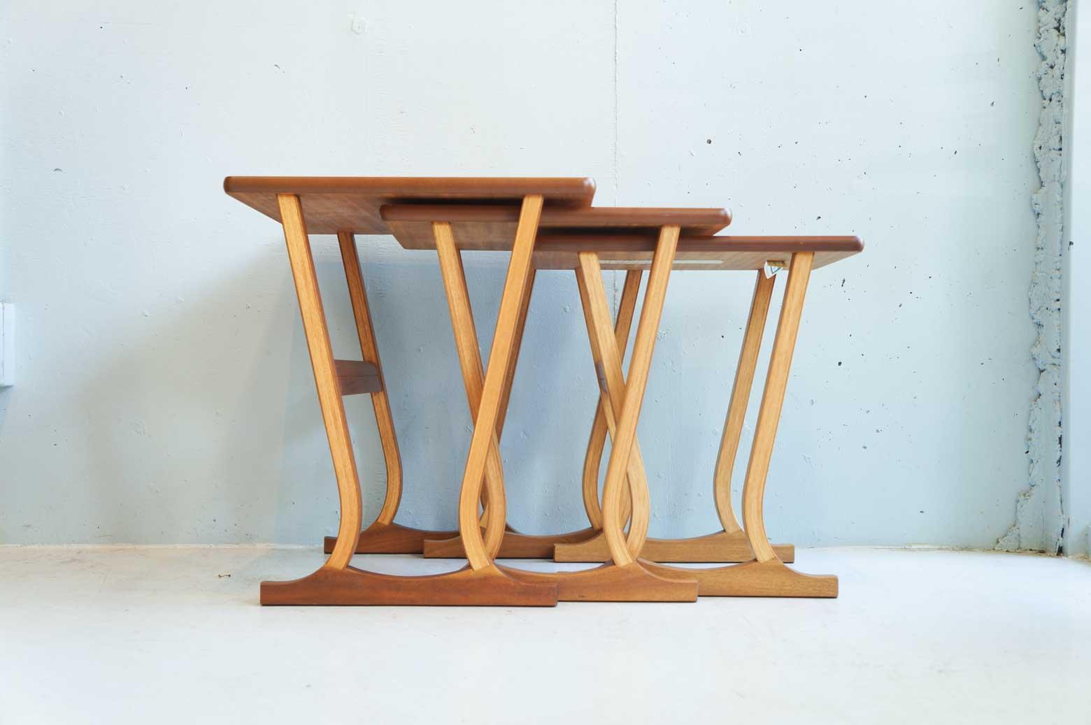 UK Vintage Nathan Nest Table/イギリス ヴィンテージ ネイサン ネストテーブル