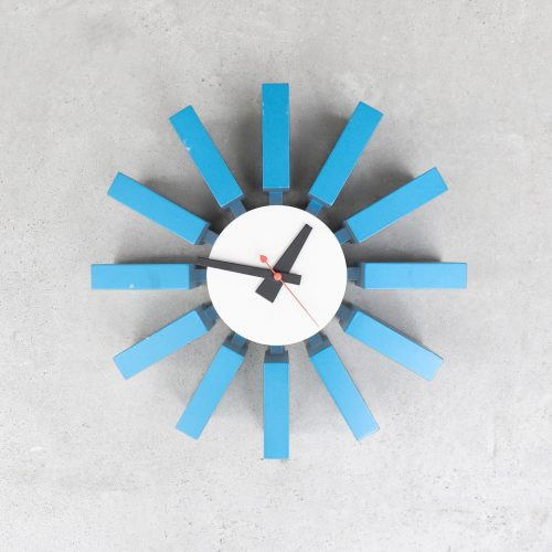 vitra Block Clock George Nelson Irving Harper/ヴィトラ ブロッククロック ジョージ・ネルソン アーヴィング・ハーパー