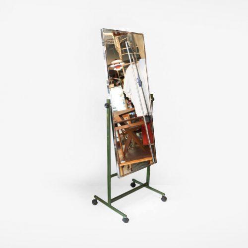 Stand Caster Mirror Repainted/キャスター付き スタンドミラー リペイント