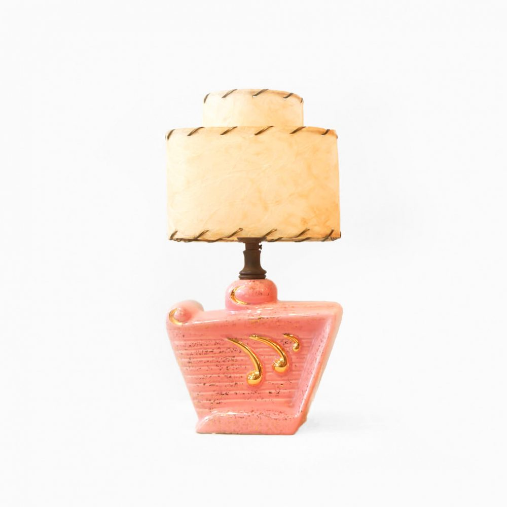 US Vintage Double Shade Table Lamp/アメリカ ヴィンテージ ダブルシェード テーブルランプ