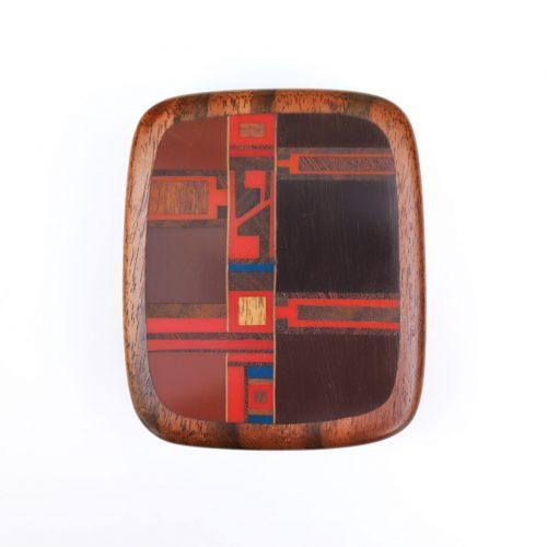 US Vintage Robert McKeown Accessory Wood Box/アメリカ ヴィンテージ ロバート・マッキーン アクセサリーウッドボックス