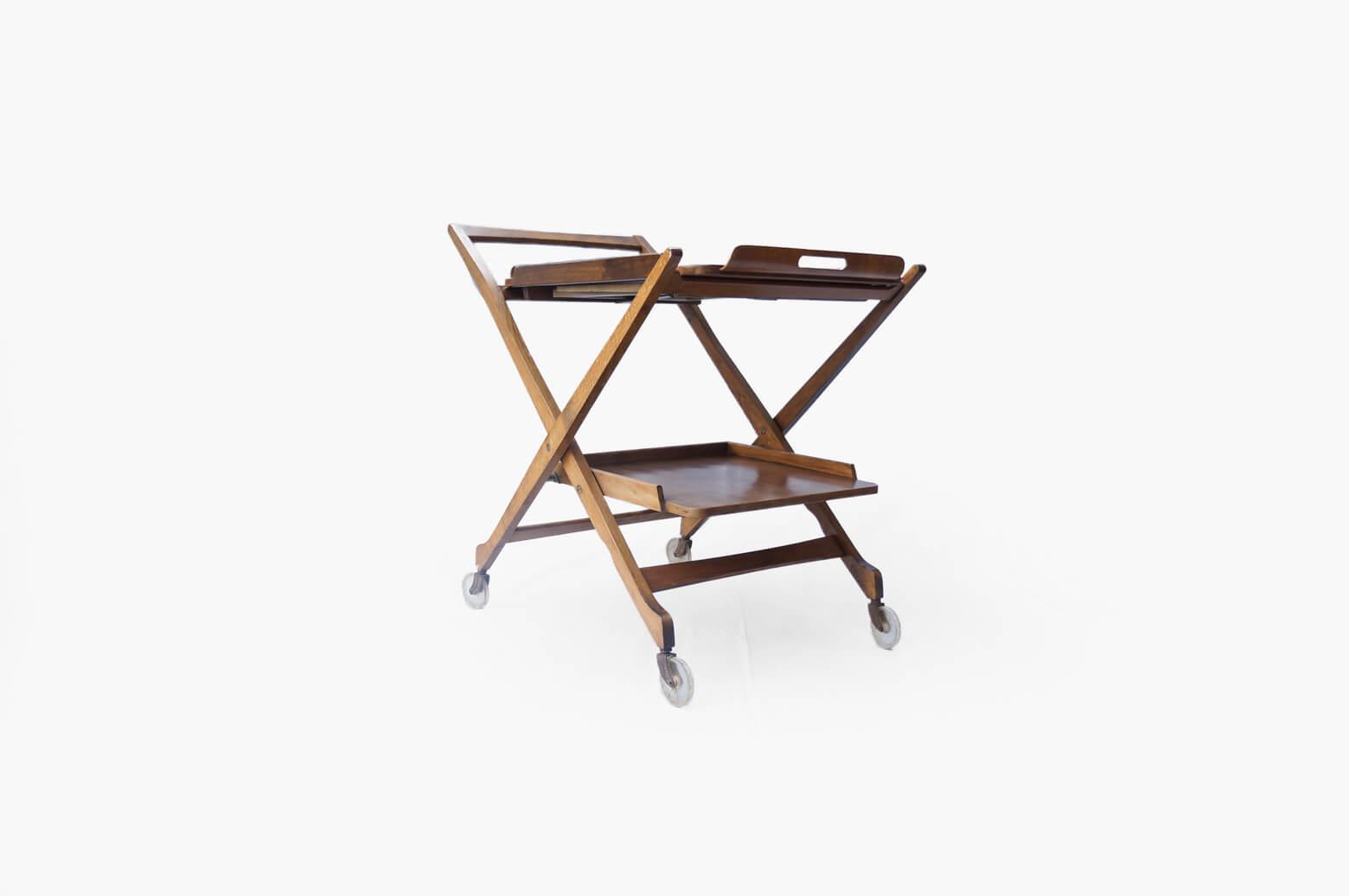Yugoslavia Vintage NASCO Folding Bar Cart/ユーゴスラビア ヴィンテージ ナスコ 折りたたみバーカート