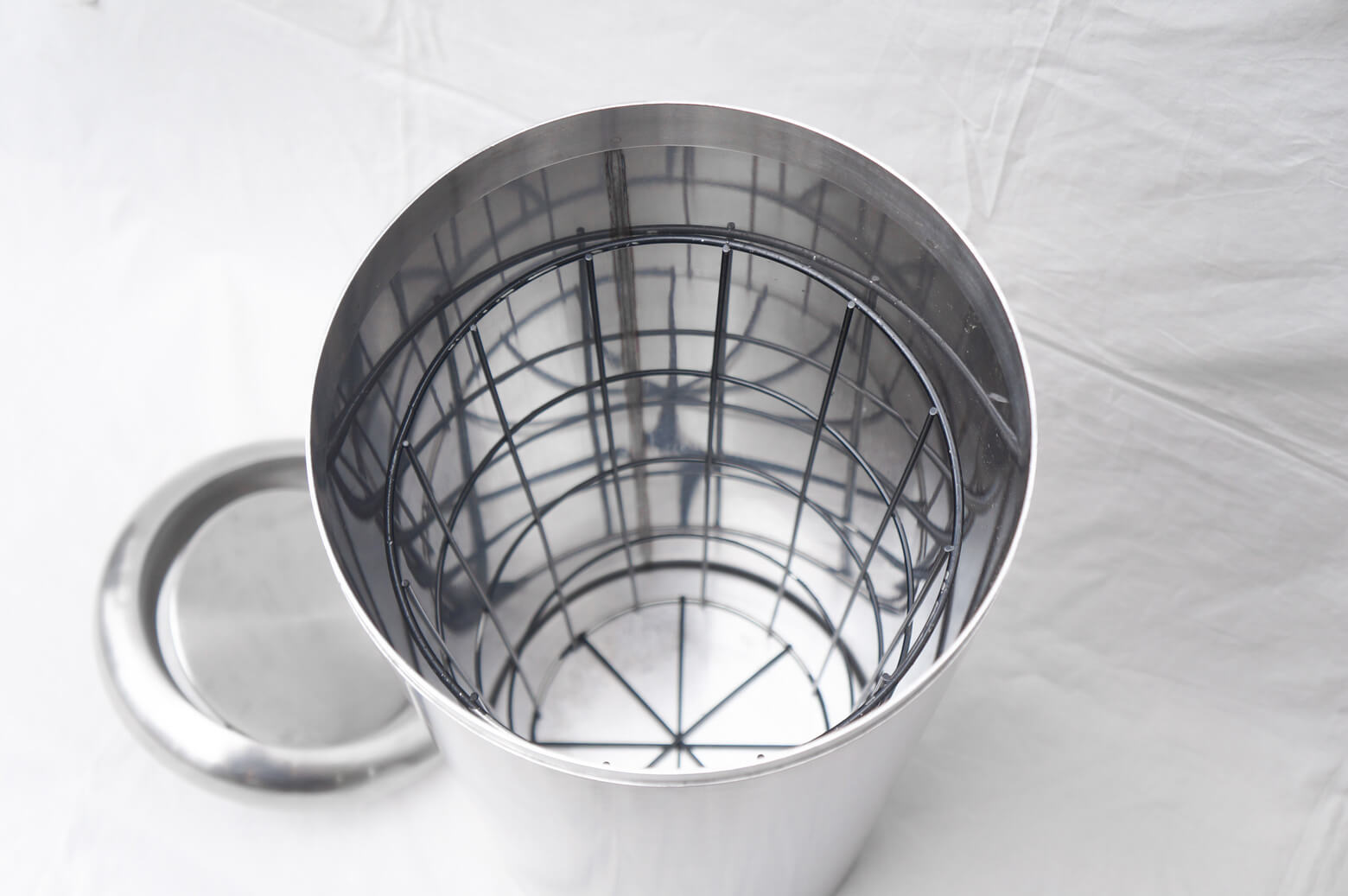Stainless Garbage Can/ステンレス ダストボックス