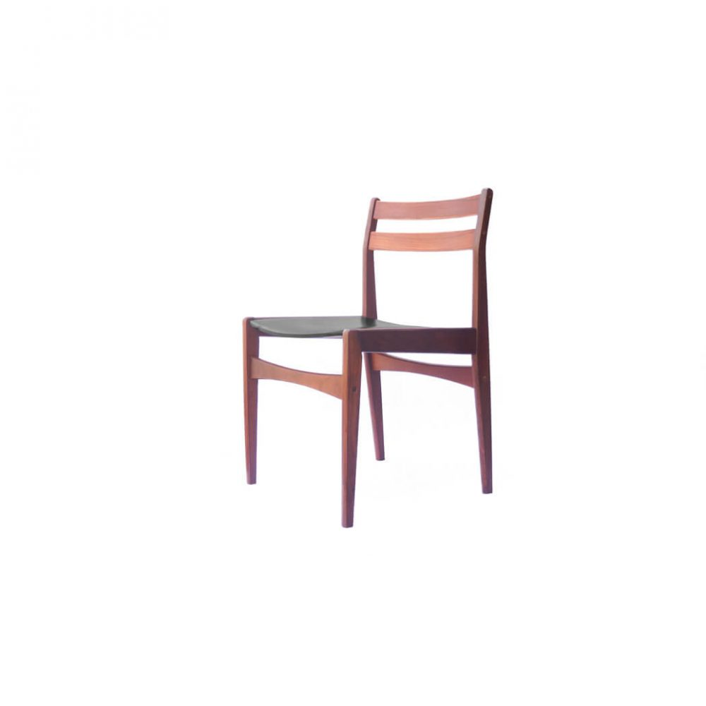 Danish Vintage Frem Røjle Dining Chair designed by Poul M. Volther/デンマーク ヴィンテージ フレムロジェ ダイニングチェア ポール・M・ヴォルター 1