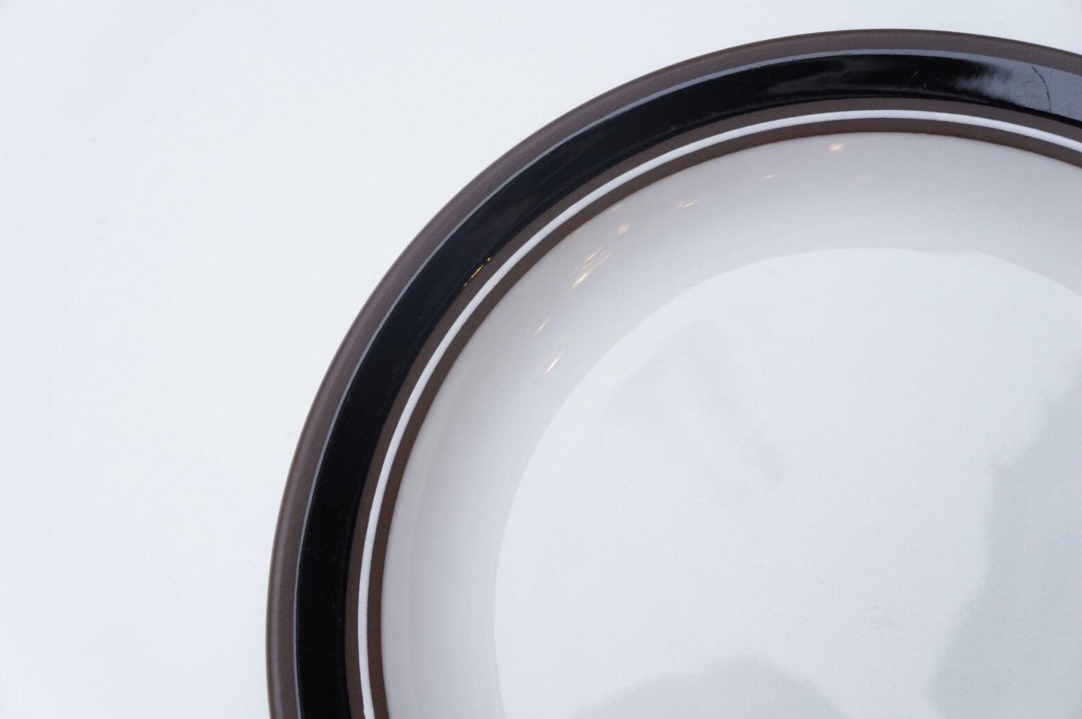 "UK Vintage HORNSEA ""Contrast"" Plate 25cm/イギリス ヴィンテージ ホーンジー ""コントラスト"" プレート"