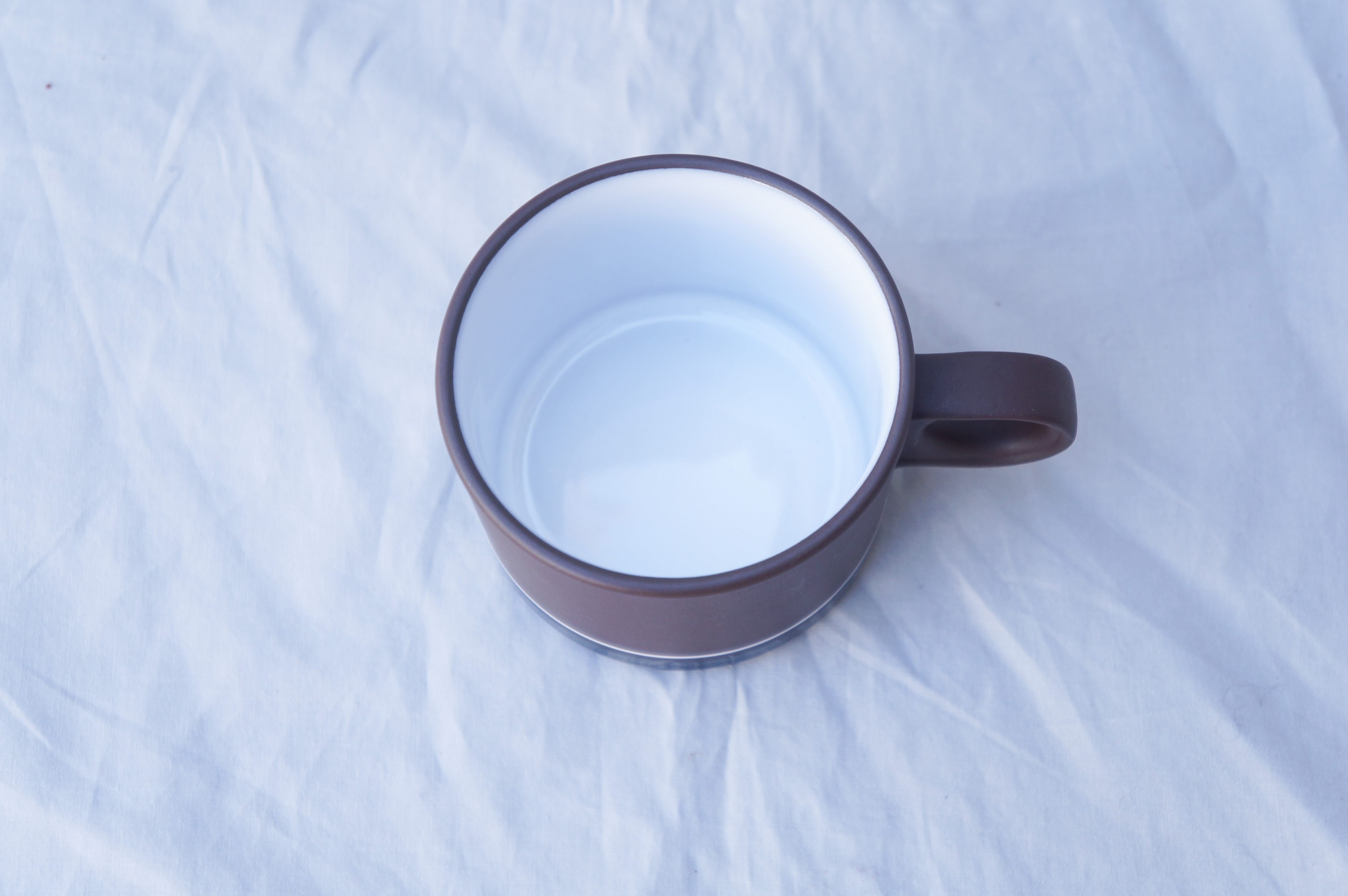 """UK Vintage HORNSEA """"Contrast"""" Cup and Saucer/イギリス ヴィンテージ ホーンジー """"コントラスト"""" カップ&ソーサー"""