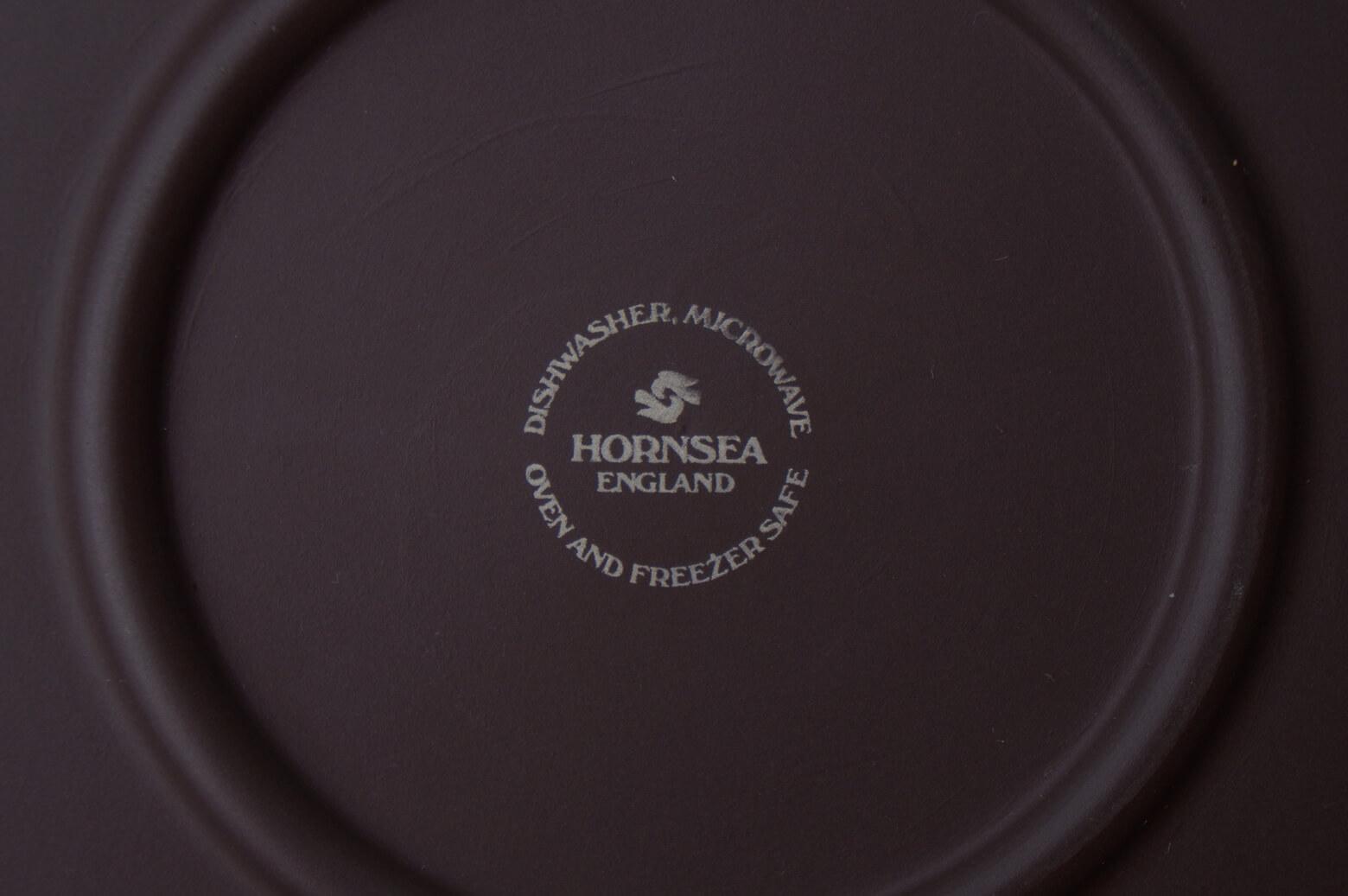 "UK Vintage HORNSEA ""Contrast"" Plate 20cm/イギリス ヴィンテージ ホーンジー ""コントラスト"" プレート"