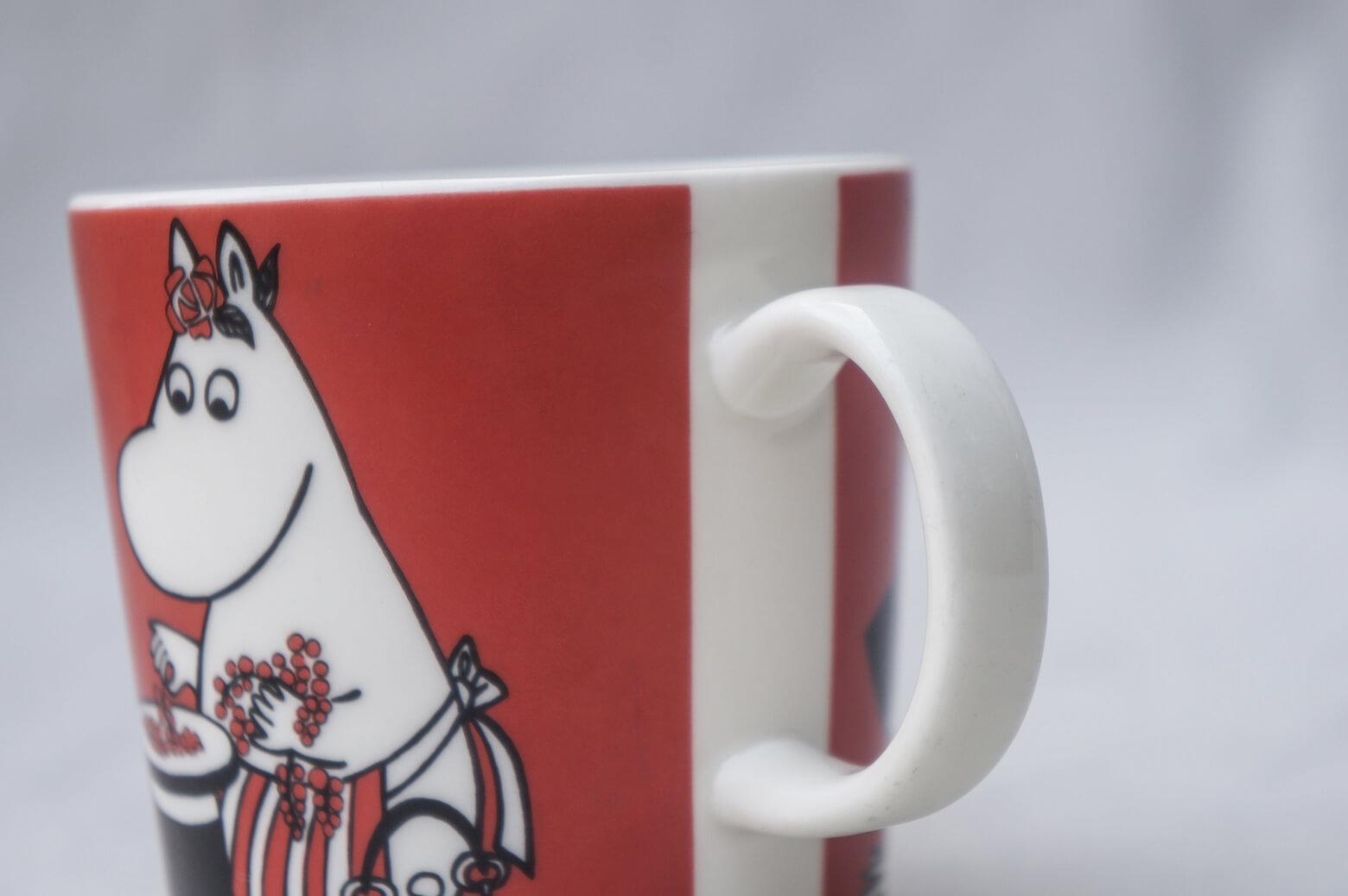 "ARABIA Moomin Mug ""Moominmamma and the berries""/アラビア ムーミンマグ ""ムーミンママとベリー"""