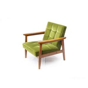 Karimoku60 K Chair 1Seater Moquette Green/カリモク60 Kチェア 1シーター モケットグリーン