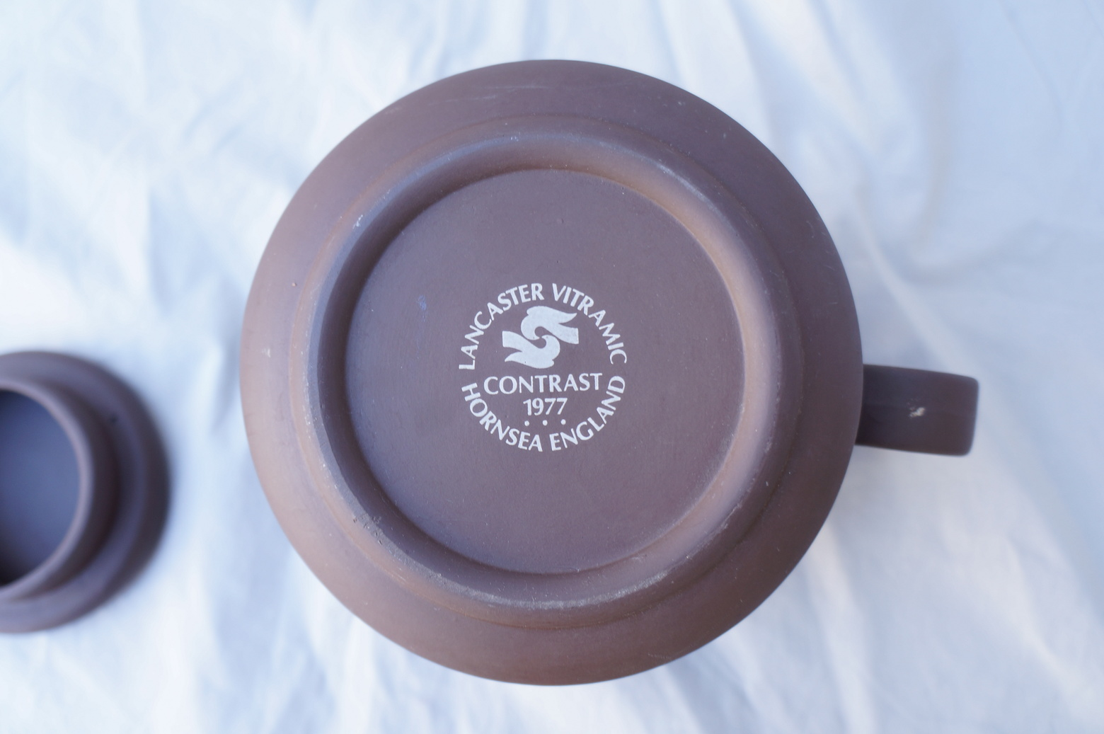 "UK Vintage HORNSEA ""Contrast"" Tea Pot/イギリス ヴィンテージ ホーンジー ""コントラスト"" ティーポット"
