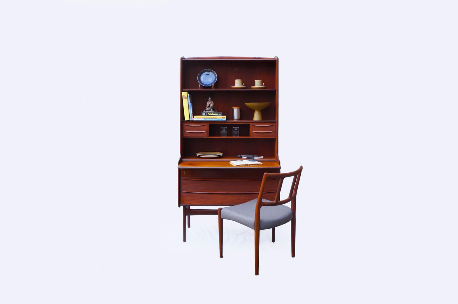 Danish Vintage Book Case Bureau/デンマーク ヴィンテージ ブックケース ビューロー