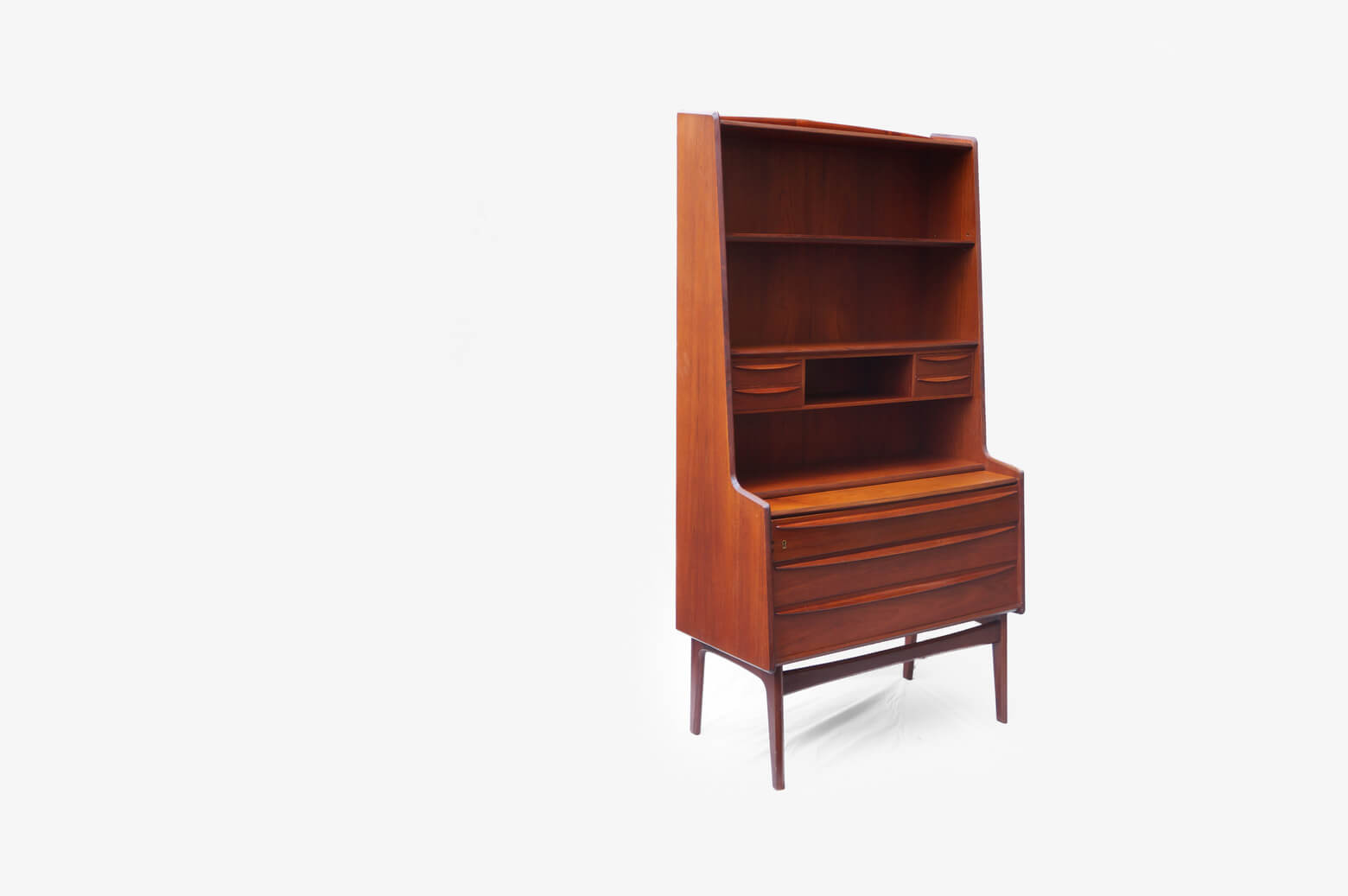 Danish Vintage Book Case Bureau