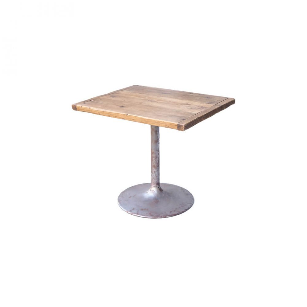 GALLUP Antique Wood Remake Cafe Table/ギャラップ 古材 リメイク カフェテーブル