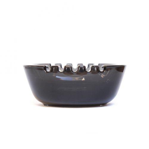 Nuutajärvi Ash Tray/ヌータヤルヴィ アッシュトレイ スタディオン ブラック 灰皿 ボウル 北欧 雑貨 サーラ・ホペア デザイン