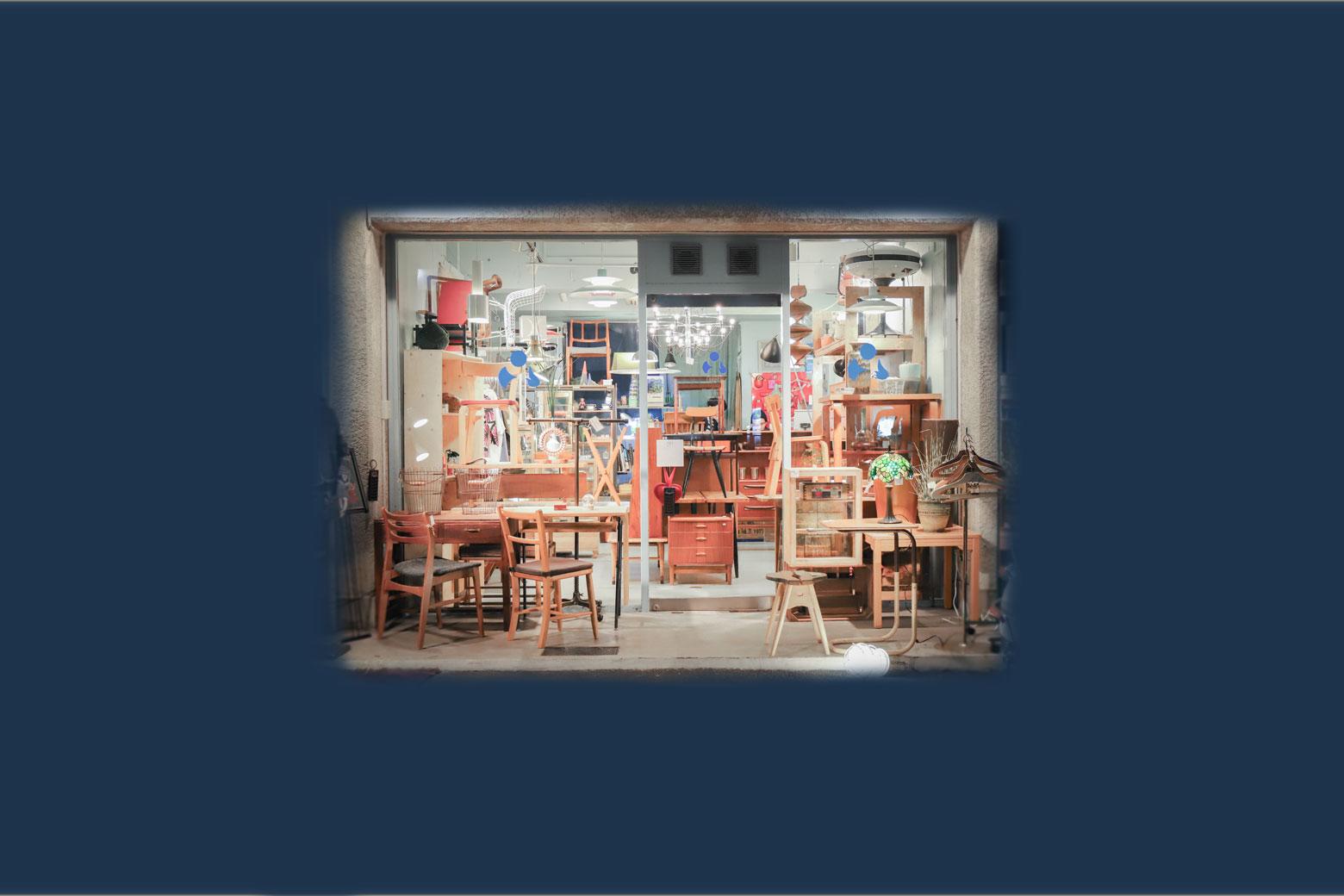 """Vintage & SecondhandInterior Shop""""FURUICHI"""""""