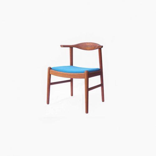 Aobayashi Seisakujo Dining Chair/青林製作所 ダイニングアームチェア チーク材 ジャパンヴィンテージ 北欧デザイン 2