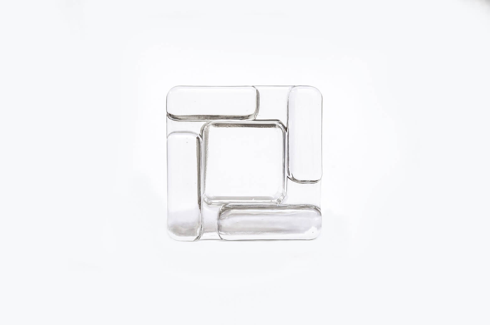 Scandinavian Style Glass Ash Tray/ガラス アッシュトレイ 北欧スタイル インテリア雑貨