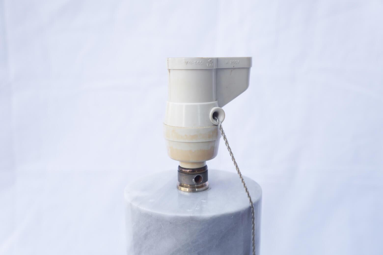 Marble Vase Table Lamp/大理石 テーブル ランプ グレー