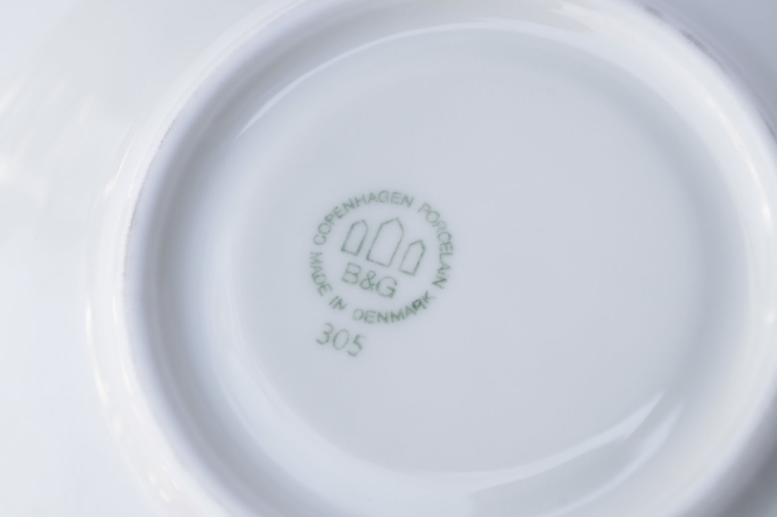 Bing&Grondahl Cactus/ビングオーグレンダール カクタス カップ&ソーサー 1