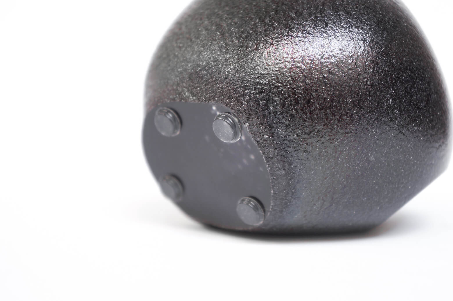 "iittala ""kuukivi"" glass art object/イッタラ ガラス オブジェ ペーパーウェイト ブラック 北欧 雑貨"