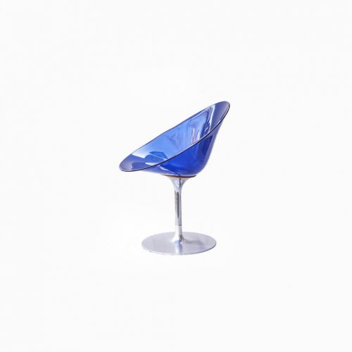 Kartell ERO|S| Chair Philippe Starck/カルテル エロエス チェア フィリップ・スタルク 回転式 コバルトブルー