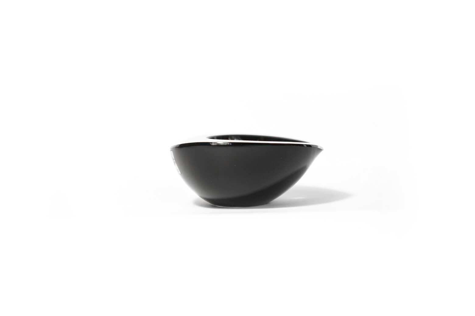 "Nuutajärvi Kaj Franck ""Kastanja"" Bowl/ヌータヤルヴィ カイ・フランク ボウル ガラス 北欧 雑貨 ヴィンテージ"