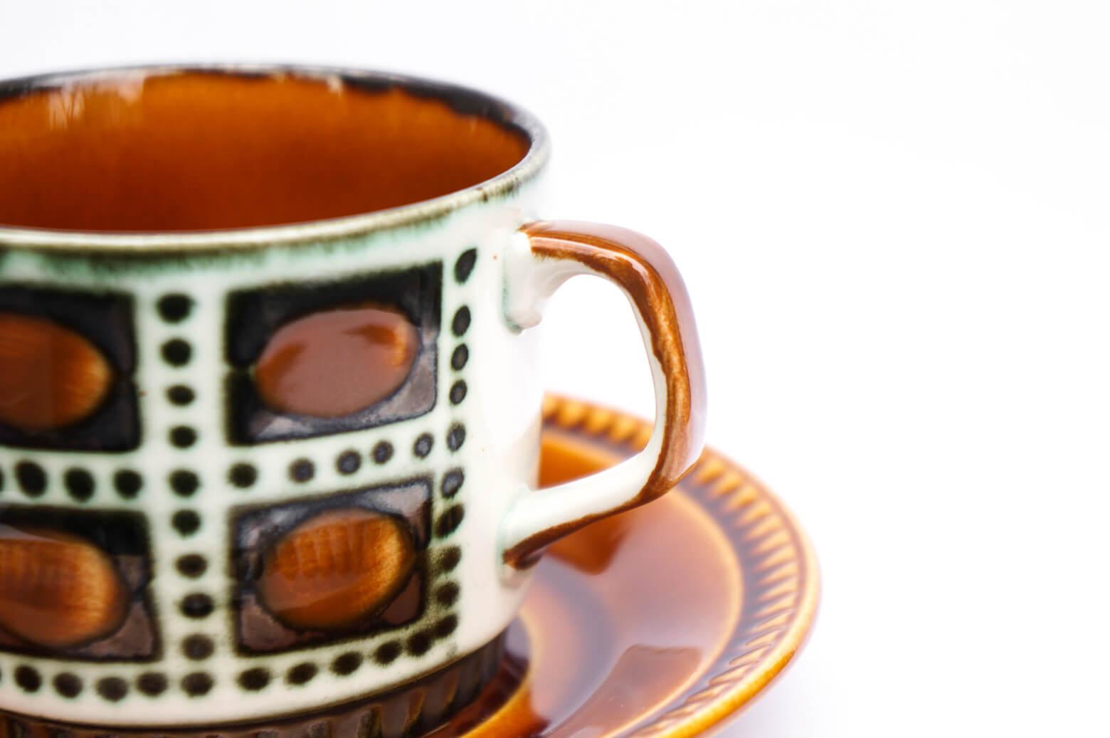 Boch Cup and Saucer Bernadette / ボッホ カップ アンド ソーサー ベルナデッタ ヴィンテージ 食器 ベルギー 雑貨 2