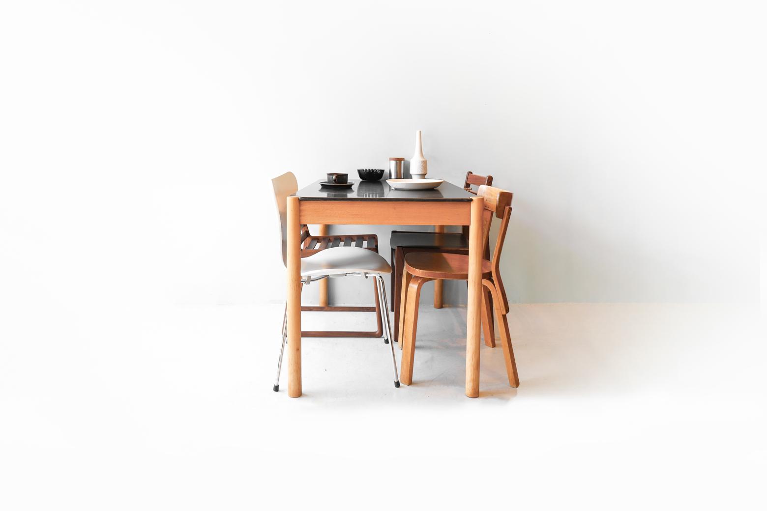 FDB Møbler Dining Table C44 Jorgen Baekmark/FDBモブラー ダイニングテーブル ヨーゲン・ベックマーク ヴィンテージ デンマーク 北欧家具