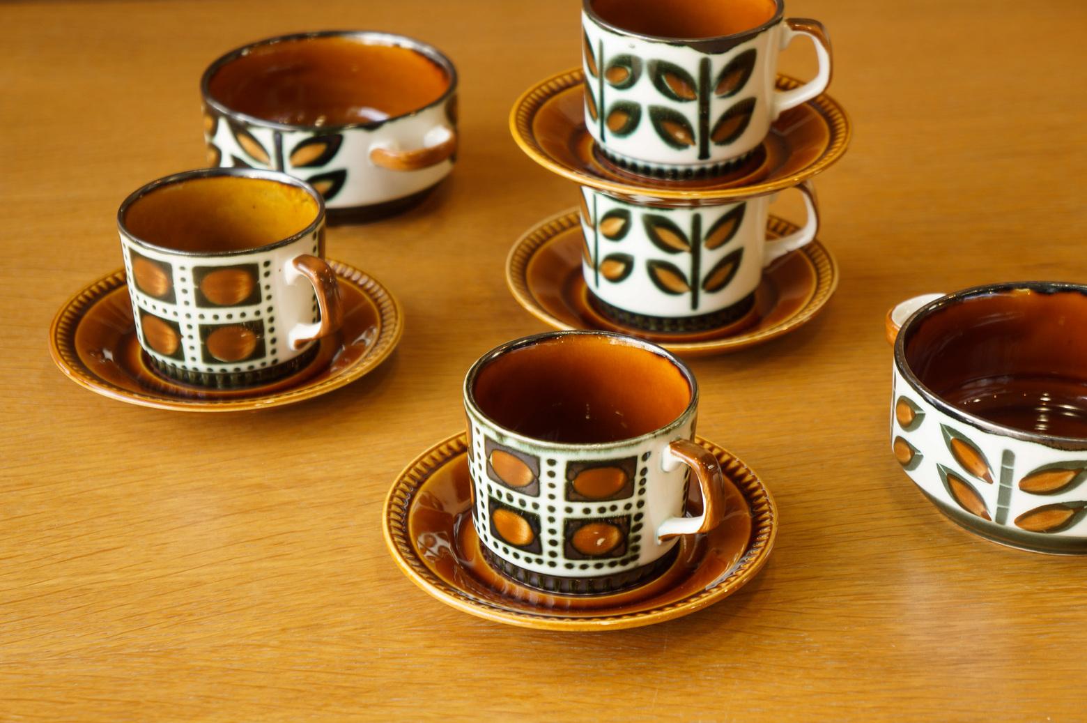 Boch Vintage Tableware made in Belgium