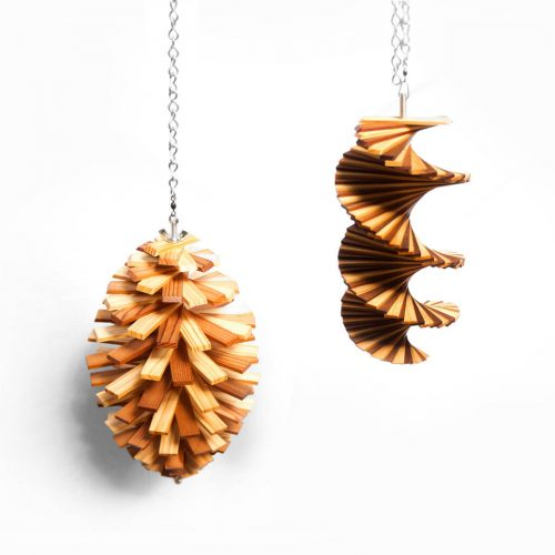 Wood Wind Spinner/ウッド ウィンド スピナー 木製モビール インテリア