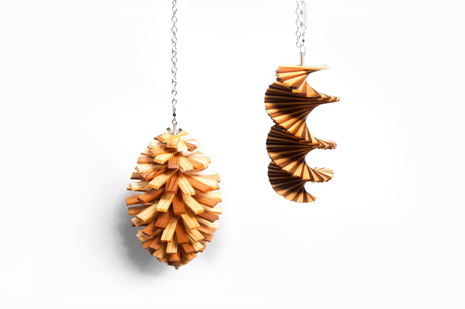 Wood Wind Spinner/ウッド ウィンド スピナー 木製モビール 北欧 インテリア
