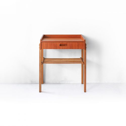 Swedish Vintage Side Chest /スウェーデン ヴィンテージ サイドチェスト 1段 チーク材 北欧家具