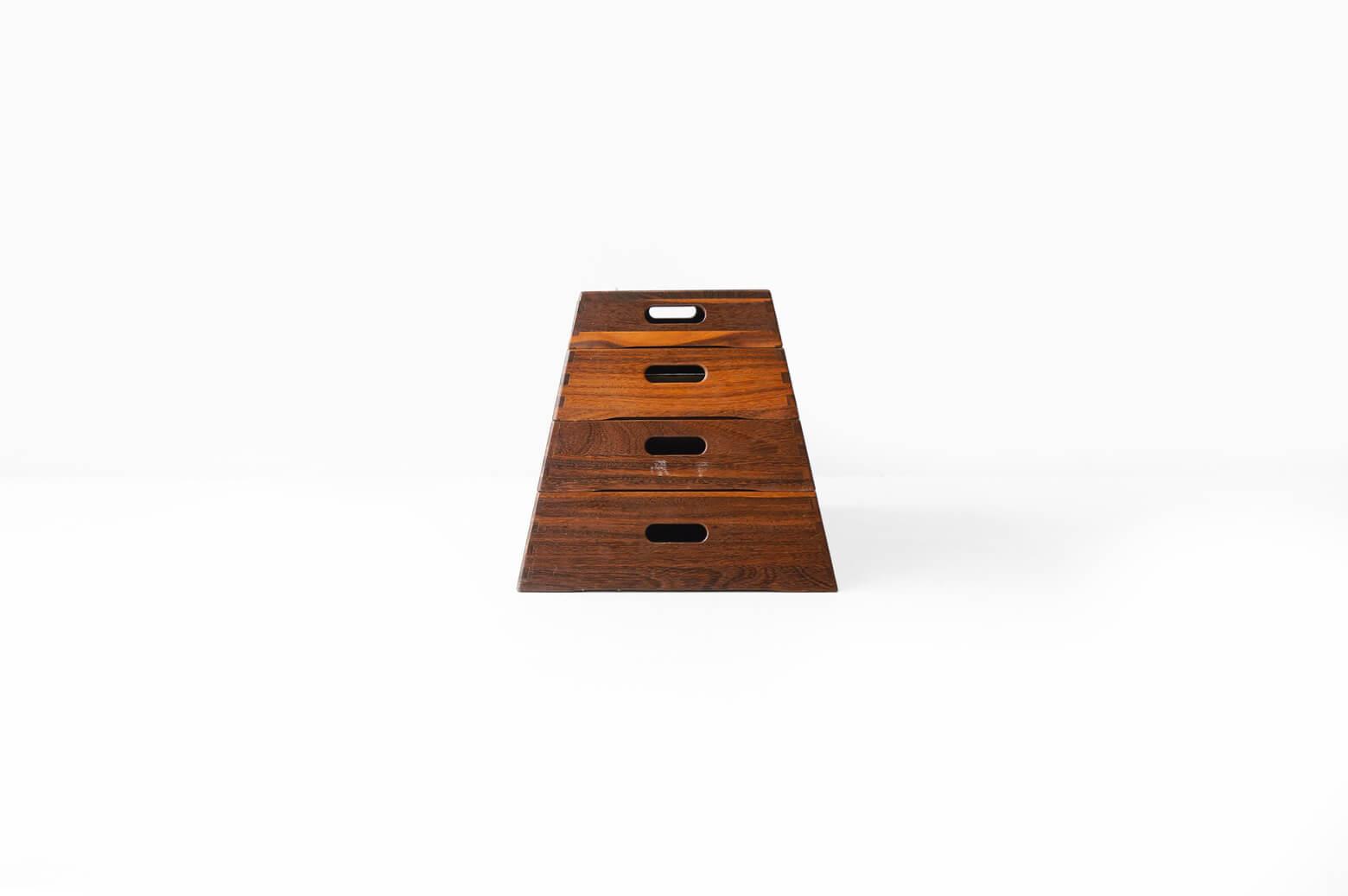 Vaulting Storage Box Walnut/跳び箱 収納ボックス ウォルナット インテリア