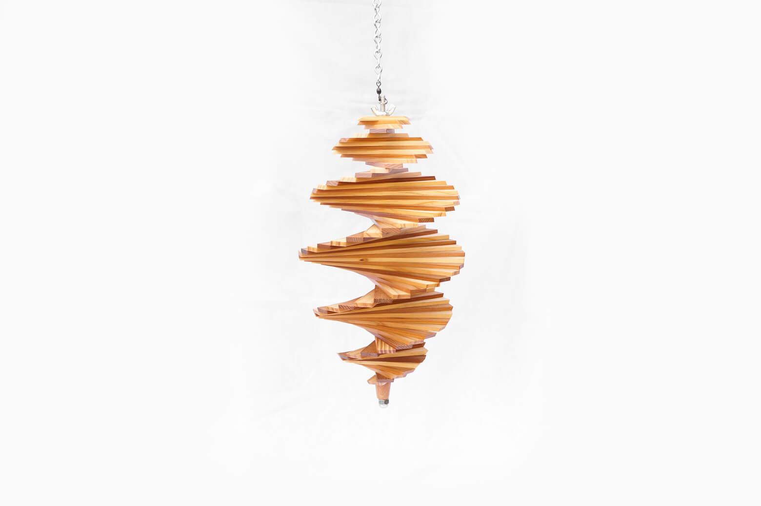 Wood Wind Spinner/ウッド ウィンド スピナー 木製モビール インテリア ミディアムサイズ