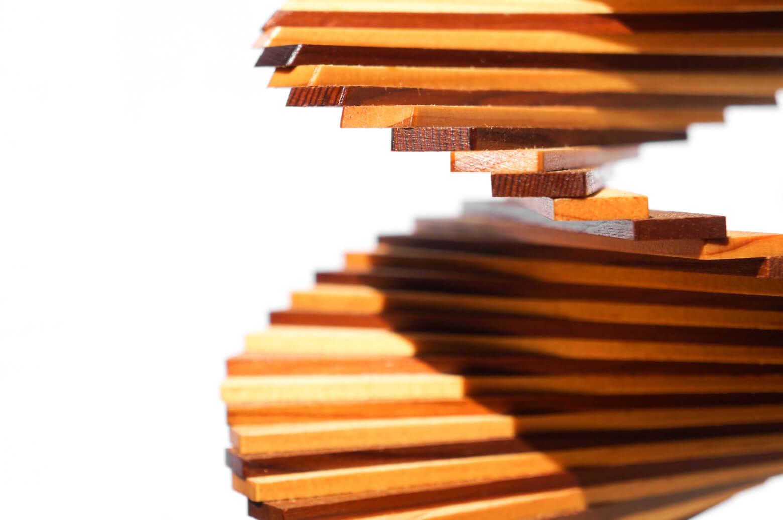 Wood Wind Spinner/ウッド ウィンド スピナー 木製モビール インテリア スモールサイズ