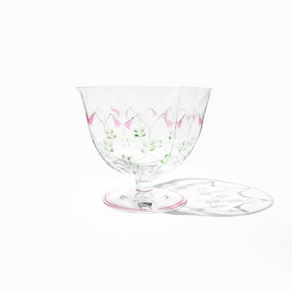 Orrefors Glass Compote Linnea Eva Englund/オレフォス グラス コンポート リネア エヴァ・イングランド スウェーデン ガラス 北欧食器
