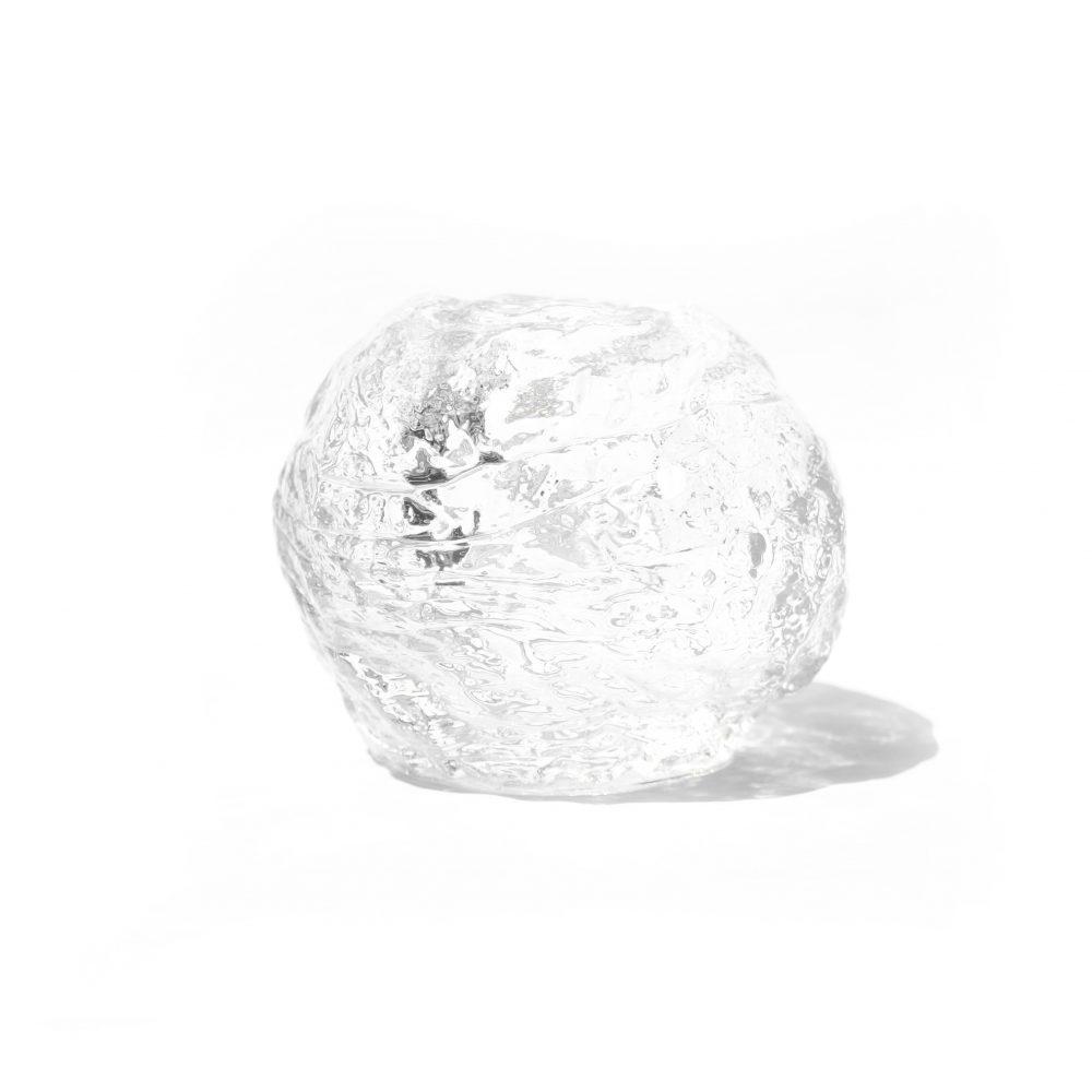 Kosta Boda Snow Ball Candle Holder Ann Wolff/コスタボダ キャンドルホルダー スノーボール アン・ウォルフ ガラス 北欧雑貨 Lサイズ