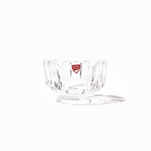 Orrefors Corona Bowl/オレフォス コロナ ボウル ラース・ヘルステン ガラス スウェーデン 北欧雑貨