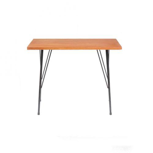 Solid wood Remake Table/無垢 一枚板 アイアンレッグテーブル 鉄脚 アンティーク インダストリアル ②