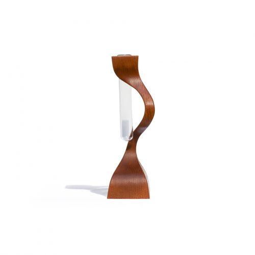 TeakWood Vintage Vase / チーク材 フラワーベース 花瓶 北欧 一輪挿し 無垢 ヴィンテージ