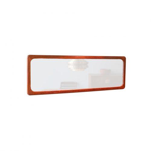 Danish Vintage Wall Mirror/デンマーク ヴィンテージ ウォールミラー 壁掛け 鏡 チーク材 ミッドセンチュリー 北欧インテリア