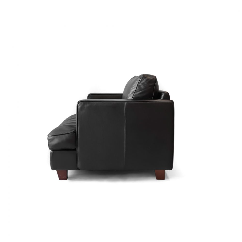 KEYUCA 1P Leather Sofa/ケユカ 1シーター パーソナル ソファ 本革 レザー