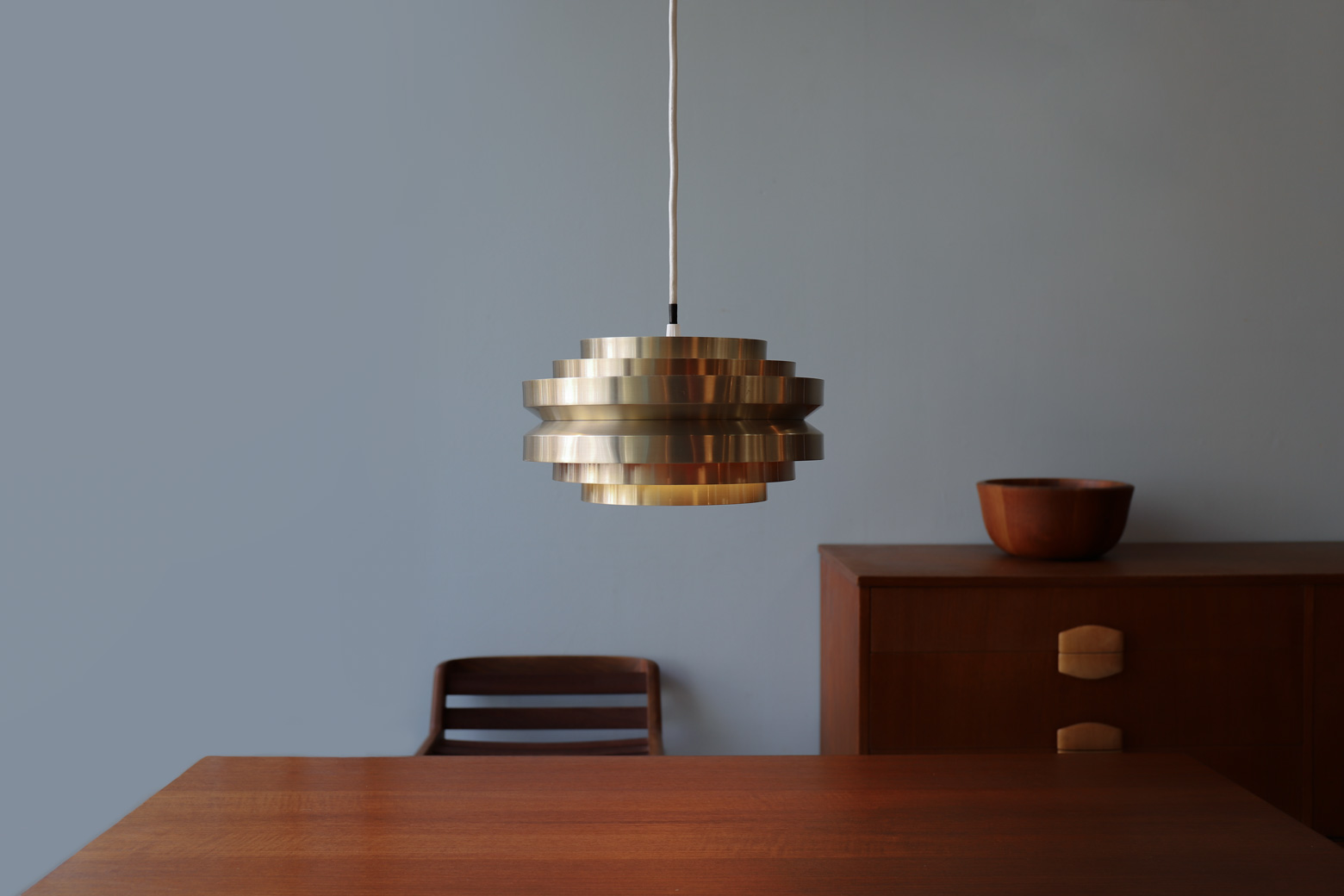 Carl Thore Loop Pendant Lamp 1960'S
