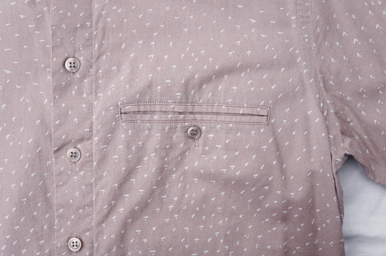 marimekko Men's Shirt Samu-Jussi Koski/マリメッコ メンズ シャツ サム-ユッシ・コスキ 北欧 テキスタイル 古着 フィンランド