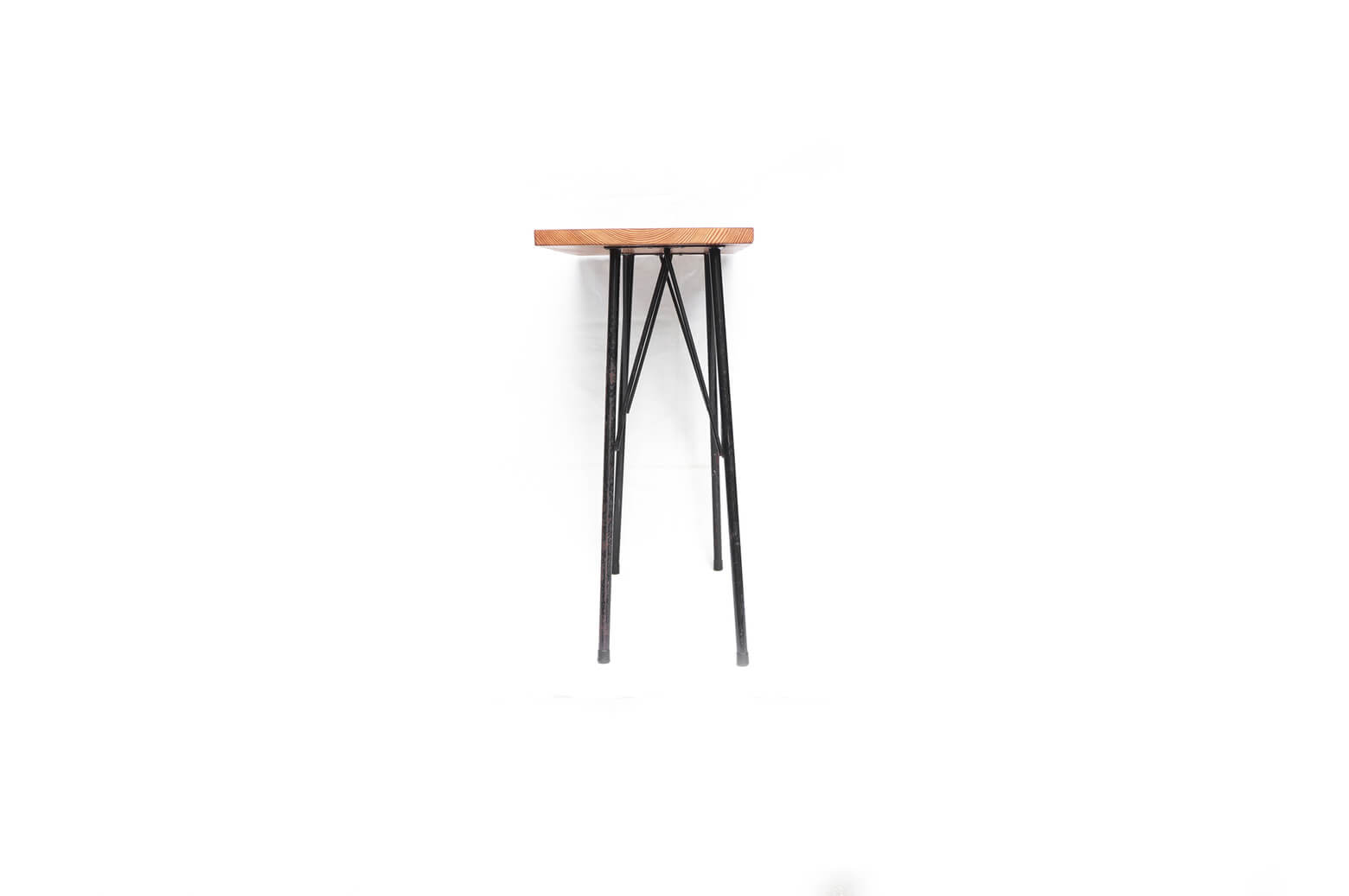 Solid wood Remake Table/無垢 一枚板 アイアンレッグテーブル 鉄脚 アンティーク インダストリアル ①