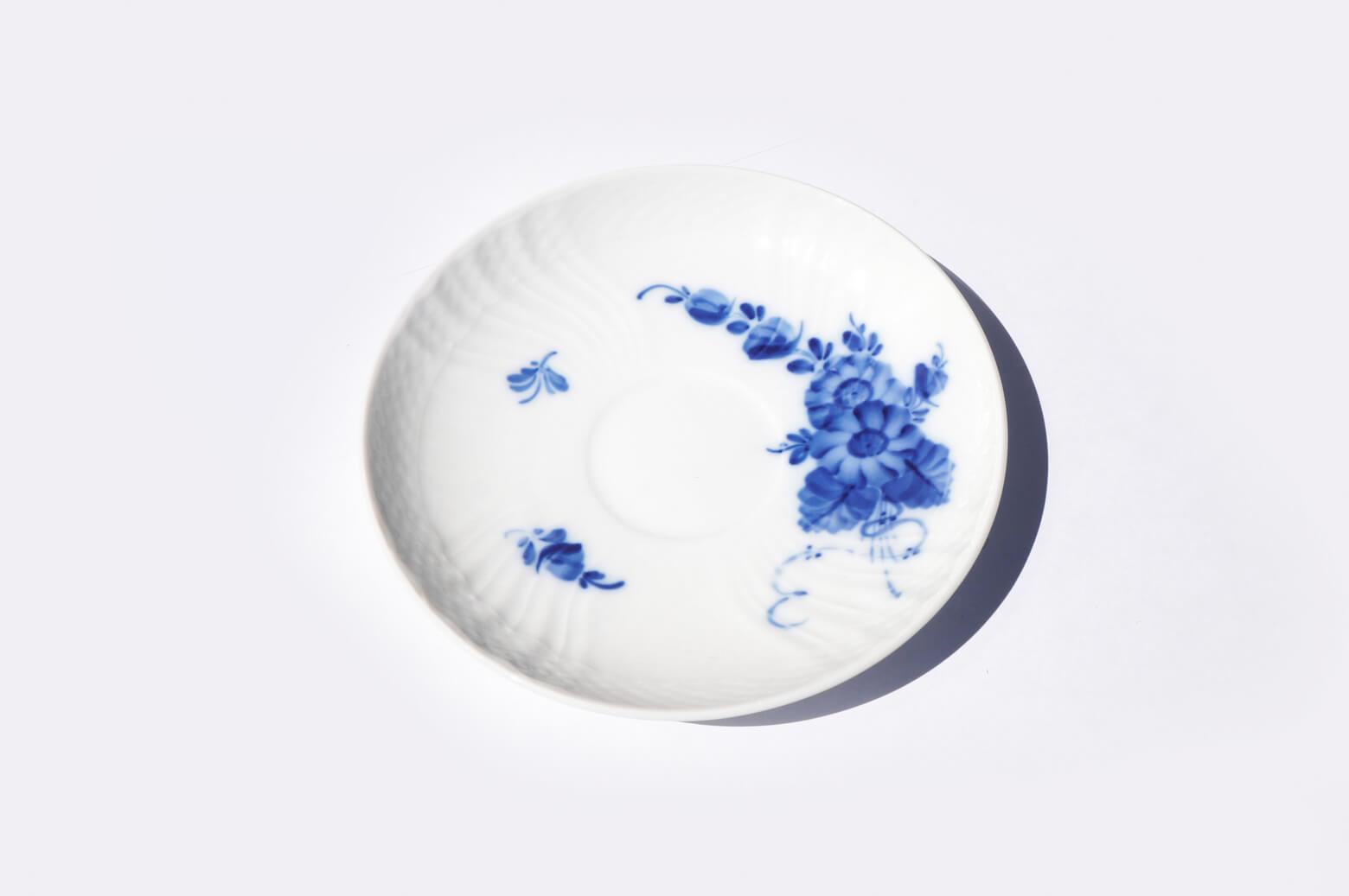 Royal Copenhagen Blue Flower Cup and Saucer/ロイヤルコペンハーゲン ブルーフラワー カップ&ソーサー カーブ 北欧食器