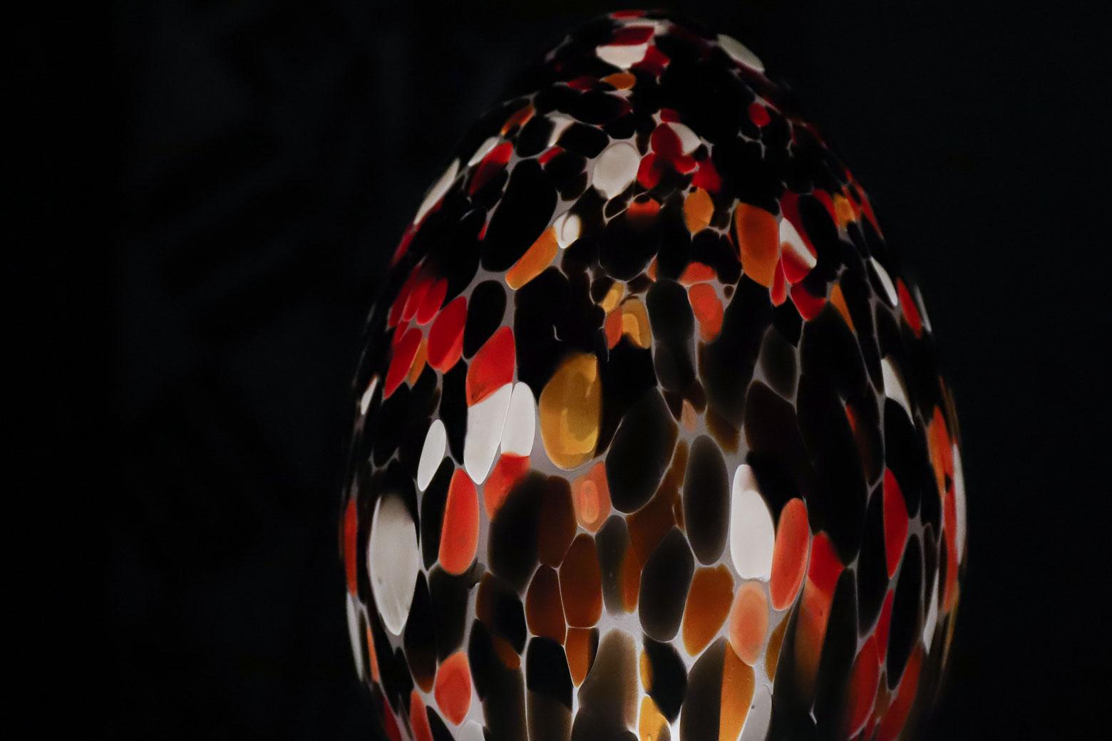 Boda Glass Egg Monica Backstraom/ボダ ガラス タマゴ モニカ・バックストローム スウェーデン インテリア ヴィンテージ