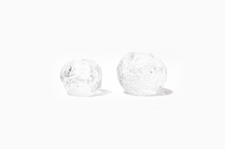 Kosta Boda Snow Ball Candle Holder Ann Wolff/コスタボダ キャンドルホルダー スノーボール アン・ウォルフ ガラス 北欧雑貨