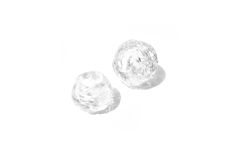 Kosta Boda Snow Ball Candle Holder Ann Wolff/コスタボダ キャンドルホルダー スノーボール アン・ウルフ ガラス 北欧雑貨