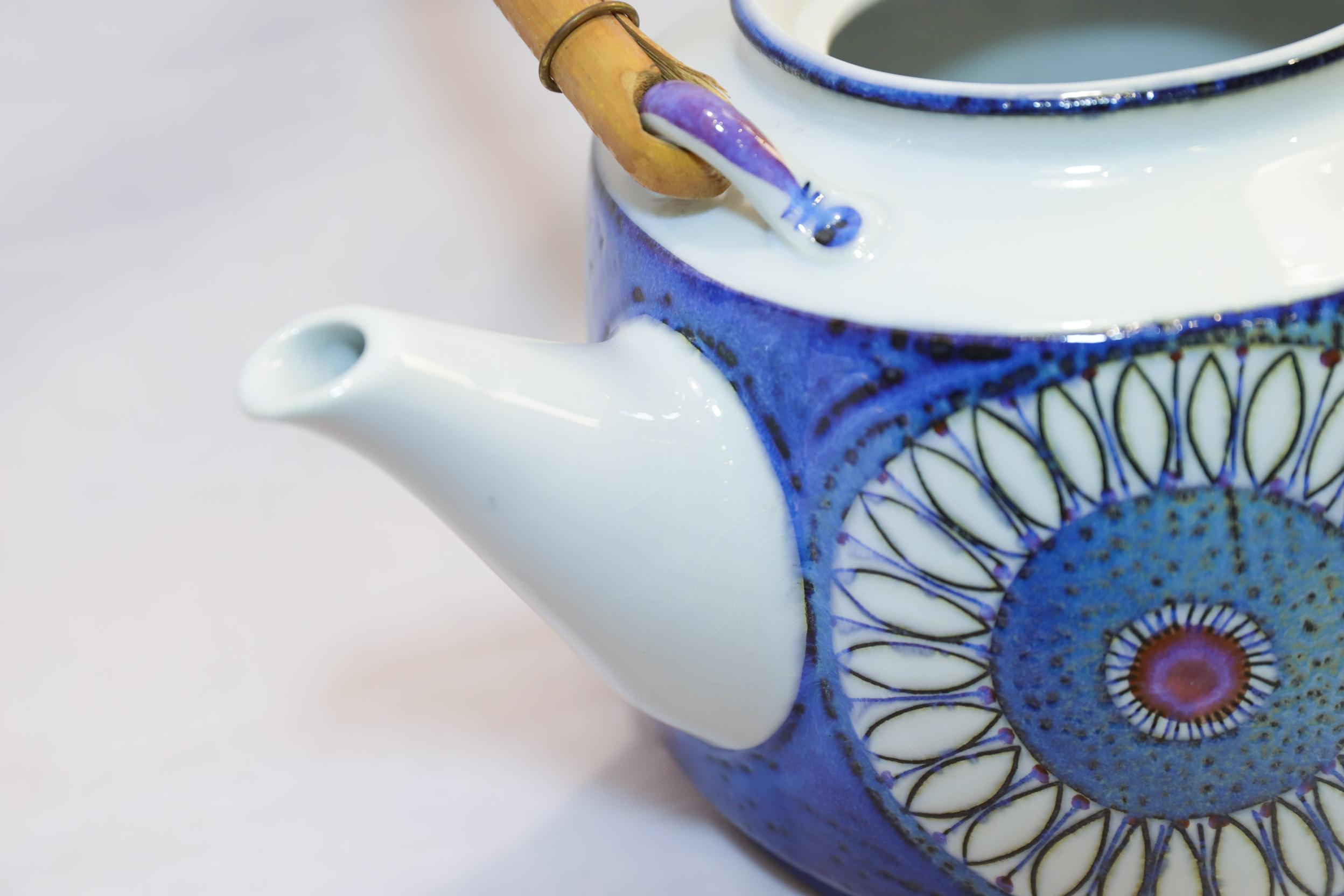 Royal Copenhagen Tenera Annette Tea Pot/ロイヤルコペンハーゲン テネラ アネット ティーポット 急須 ベルテ・イェッセン 北欧食器 ヴィンテージ